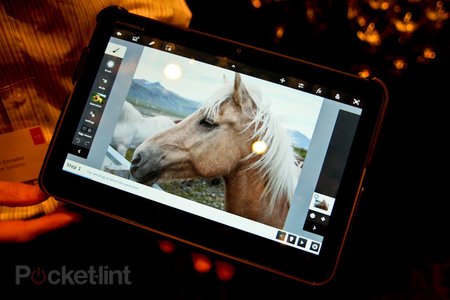 Adobe Photoshop Touch for Android pictures and hands-on - photo 2