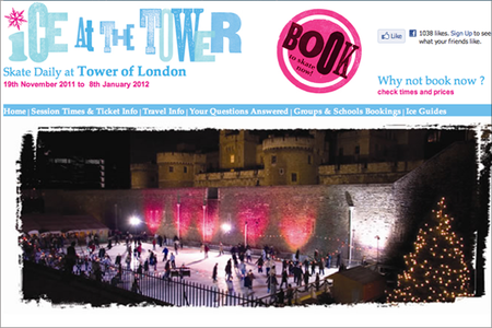WEBSITE OF THE DAY: Tower Ice Rink