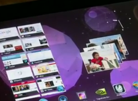 Ice Cream Sandwich action on Asus Eee Pad Transformer Prime (video)