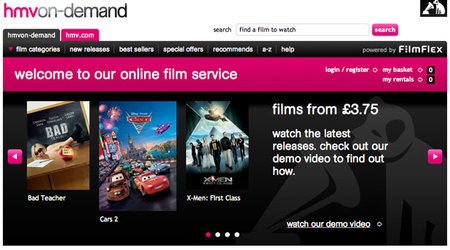 HMV On Demand launches