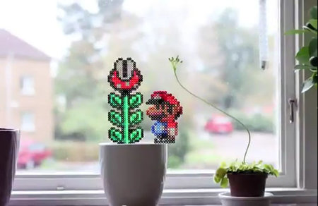Super Mario in the real world (video)