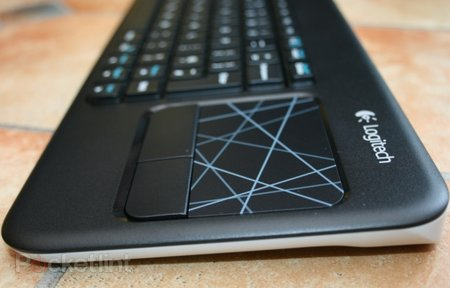 Logitech Wireless Touch Keyboard K400 pictures and hands-on