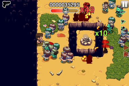 APP OF THE DAY: Age of Zombies Anniversary review (iPhone, iPad) - photo 4