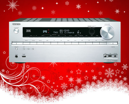 The Pocket-lint Xmas Spectacular - Day 13: Win an Onkyo TX-NR609 AV receiver