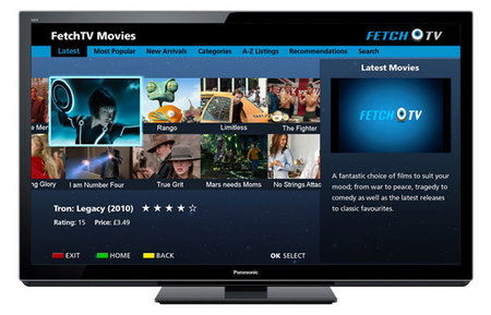 Panasonic Viera TVs get Fetch TV, Vimeo and other new services