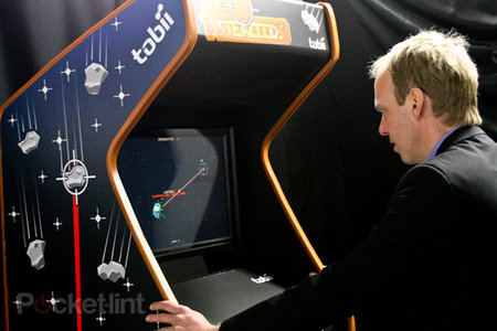 Tobii EyeAsteroids pictures and hands-on