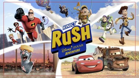 Pixar heads to Xbox 360 in Kinect Rush: A Disney Pixar Adventure