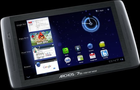 Archos 70b Honeycomb flavoured update adds hardware tweaks too