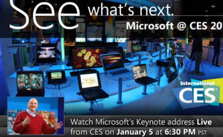 Microsoft CES 2012: Last major appearance