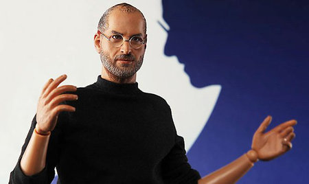 Steve Jobs action figure - bigger than an iPad screen size
