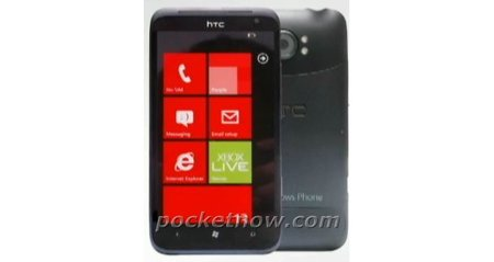 HTC Radiant pictured ahead of Windows Phone 4G revolution