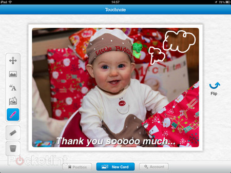 APP OF THE DAY: Touchnote Postcards for iPad review