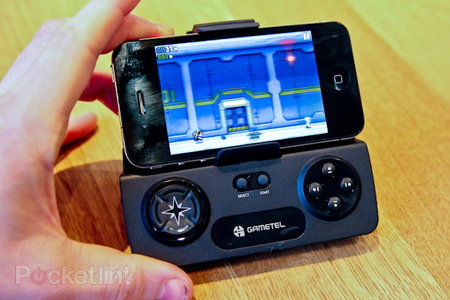 Gametel Bluetooth gamepad adds iPhone and iPad support