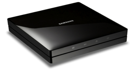 Samsung BD-ES6000 Blu-ray: Small package, well connected