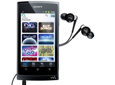 Sony announces Z series Android-powered Walkman