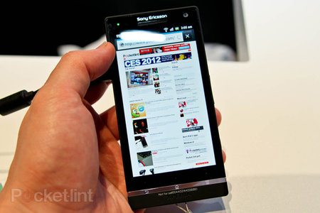 Sony Xperia S pictures and hands-on