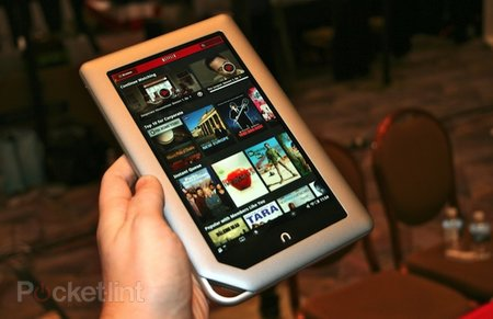 Nook Tablet pictures and hands-on
