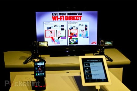 Wi-Fi comes to JVC Everio camcorders