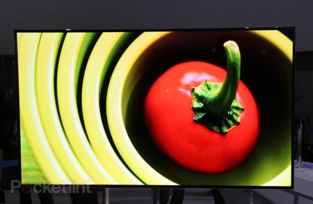 Samsung 55-inch Super OLED TV pictures and hands-on