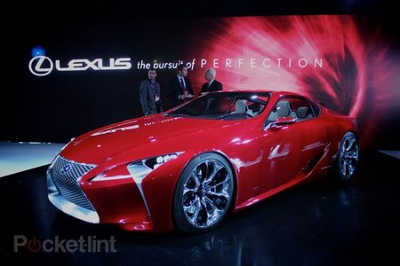 Lexus LF-LC concept pictures and hands-on - photo 1