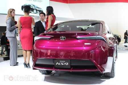 Toyota NS4 pictures and hands-on - photo 3