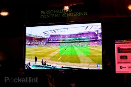 Technicolor concept brings the stadium to your sofa