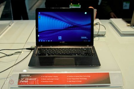 Toshiba Satellite Ultrabook concept pictures and hands-on