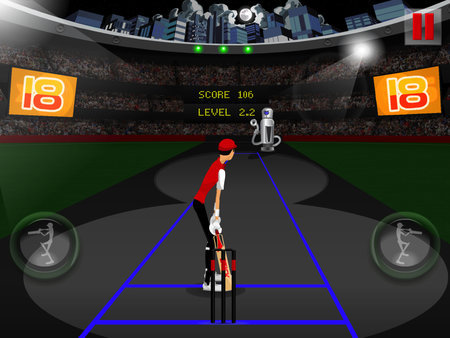APP OF THE DAY: Stick Cricket Super Sixes review (iPad) - photo 4