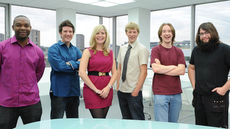 Behind the scenes of Sky 1's Gadget Geeks