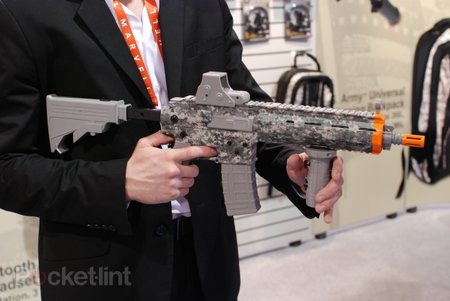 US Army certified gaming guns and gear hands-on