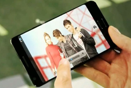 Samsung Galaxy S III caught on camera?