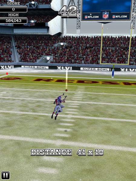 APP OF THE DAY: NFL Flick Quarterback review (iPad / iPhone / Android) - photo 17