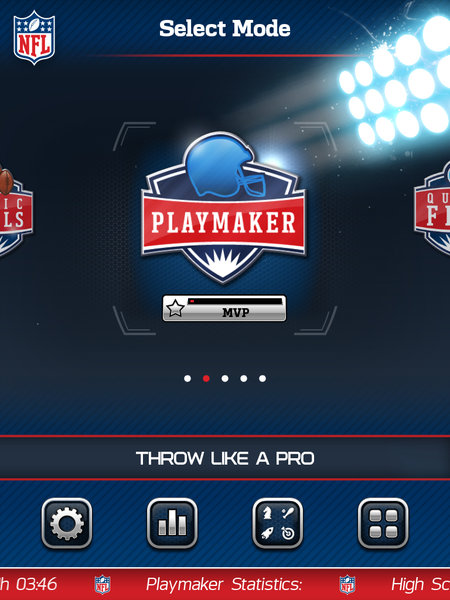 APP OF THE DAY: NFL Flick Quarterback review (iPad / iPhone / Android) - photo 3