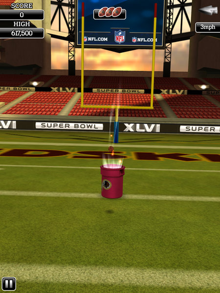 APP OF THE DAY: NFL Flick Quarterback review (iPad / iPhone / Android) - photo 8