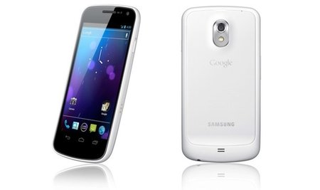 White Samsung Galaxy Nexus lands 13 February