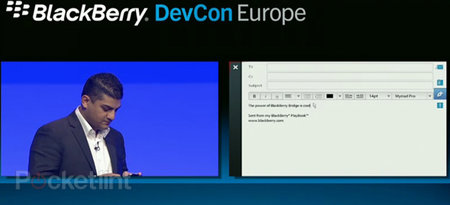BlackBerry PlayBook 2.0 demoed, Bridge 2.0 gives remote control