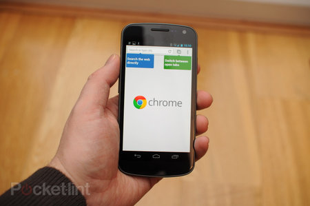 Google Chrome for Android pictures, video and hands-on