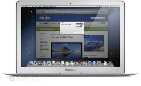 Twitter to be baked into OS X Mountain Lion