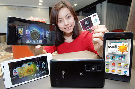 LG Optimus 3D Cube to be one of the stars of MWC... called LG Optimus 3D Max in Europe
