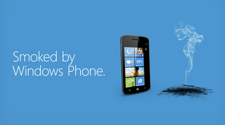 Android 'Smoked by Windows Phone'