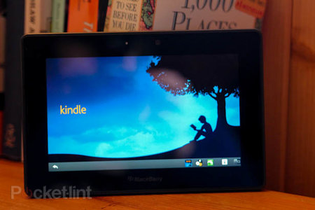 How to turn your BlackBerry Playbook into a Kindle Fire