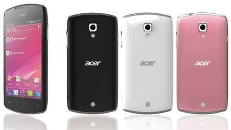 Acer Liquid Glow Ice Cream Sandwich smartphone set for MWC - photo 1