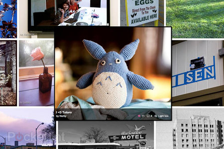 Flickr web revamp adopts Windows Metro style interface