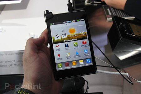LG Optimus Vu pictures and hands-on
