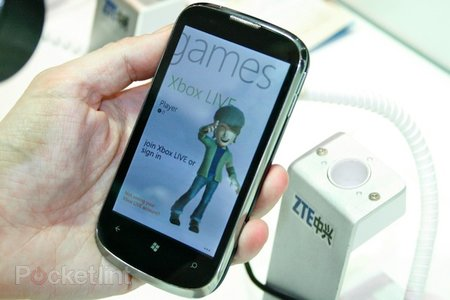 ZTE Orbit Windows Phone 7 pictures and hands-on