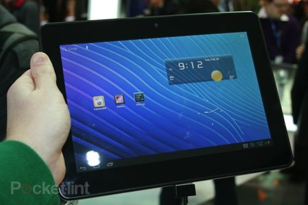 ZTE PF100 quad-core tablet pictures and hands-on - photo 1