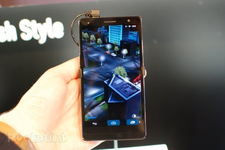 Panasonic Eluga Power pictures and hands-on