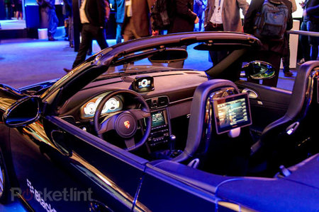 BlackBerry tricked out Porsche gives you a reason to want a PlayBook and NFC