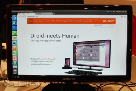 Ubuntu for Android pictures and hands-on - photo 1