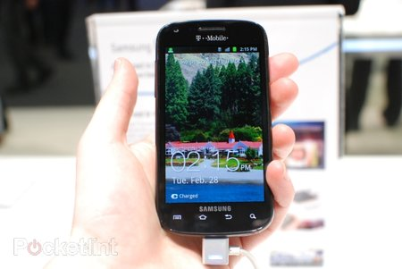 Samsung Blaze 4G pictures and hands-on